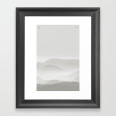 Nature / Light Framed Art Print