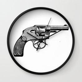 Revolver 5 Wall Clock