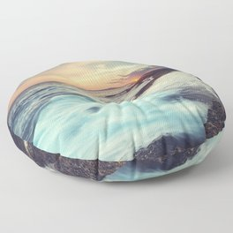 Setting over Surf Floor Pillow