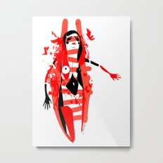 Run - Emilie Record Metal Print