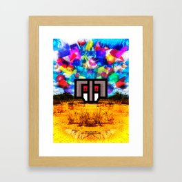 Elephants Always Forget Framed Art Print