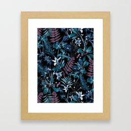 EXOTIC GARDEN - NIGHT XIV Framed Art Print