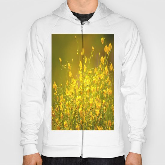 Yellow Mellow Flowers Hoody