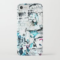 posters iPhone & iPod Cases featuring posters by Renee Ansell