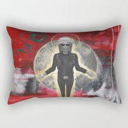 Saint LeRoy of the Sacred Faceless Avatar Rectangular Pillow