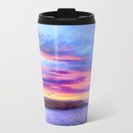 Biscay Bay sunset Travel Mug