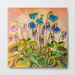 Flower Bells Metal Print
