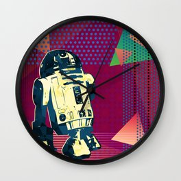 Pop Art R2D2 Wall Clock