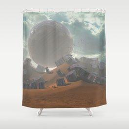 shortcut Shower Curtain