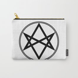 Men of Letters Symbol Black Carry-All Pouch