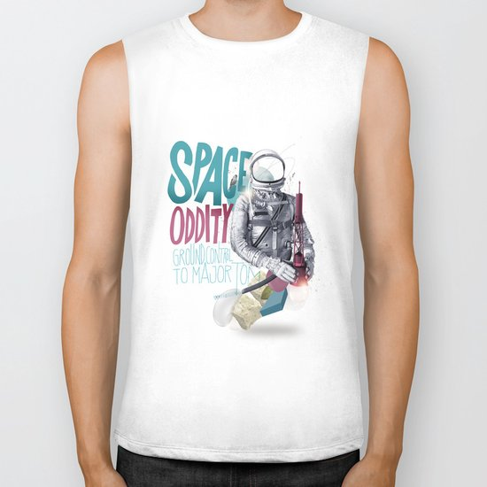 SPACE ODDITY Biker Tank