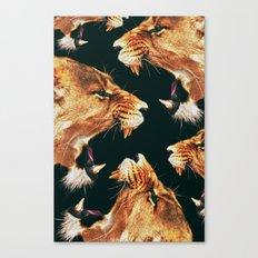 Roaring Lion Canvas Print
