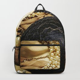 Bra, Diamonds & Pearls Backpack