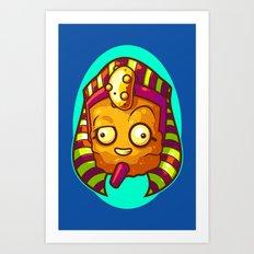 King Tater Tut Art Print