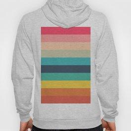 Colorful Timeless Stripes Totetsu Hoody