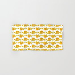 Cute Yellow Crab Hand & Bath Towel