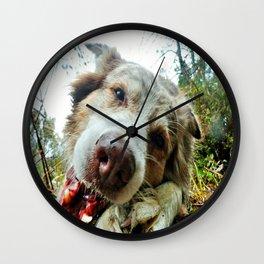 Comp Chomp Wall Clock