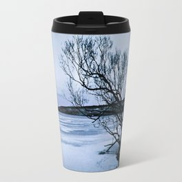 Frozen Lake Travel Mug