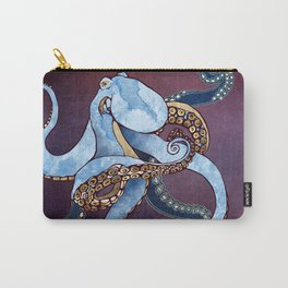 Metallic Octopus III Carry-All Pouch
