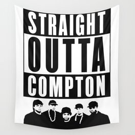 Straight Outta Compton Wall Tapestry