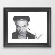Rik Mayall Framed Art Print