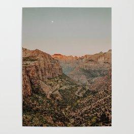 Zion National Park V / Utah Desert Poster
