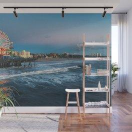 Wheel of Fortune - Santa Monica, California Wall Mural