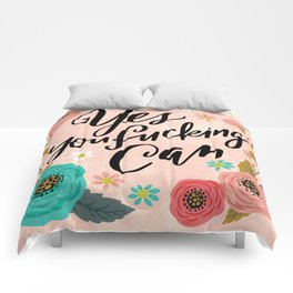 Pretty Swe*ry: Yes You Fucking Can Comforters