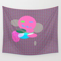 monster Wall Tapestries featuring Monster by Latidra Washington