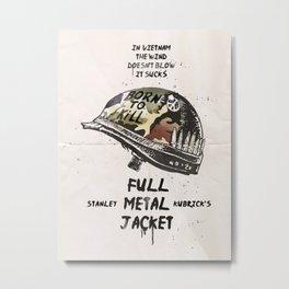 Full metal Jacket alternative Metal Print
