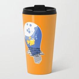 Everybody is a genius. Travel Mug