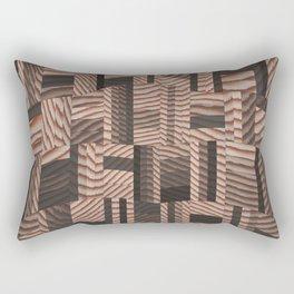 Block Head Rectangular Pillow