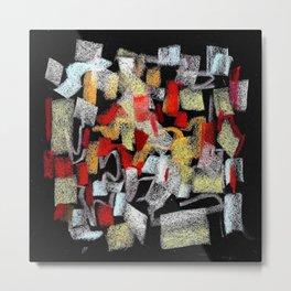 Mosaico abstracto Metal Print