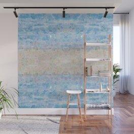 BOHEMIAN ICE STONE BLUE Wall Mural