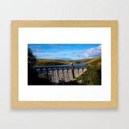 Craig Goch Dam Framed Art Print