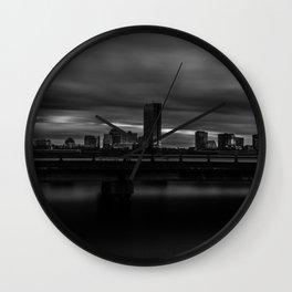 Long Exposure of Boston Wall Clock
