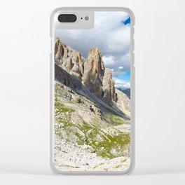 Parco Naturale Fanes Sennes Braies Clear iPhone Case