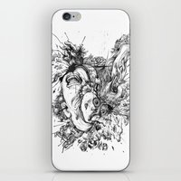 panic at the disco iPhone & iPod Skins featuring panic by Maethawee Chiraphong