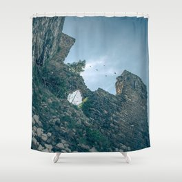 Rovine Shower Curtain