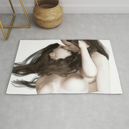 Minas - Female Kiss 2 Rug