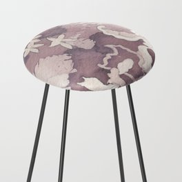 Floral Paisley Counter Stool