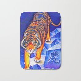 Chinese Zodiac Year of the Tiger Bath Mat
