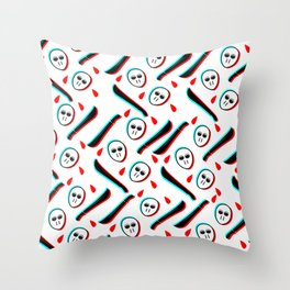 Pattern Jason Serial Killer, Throw Pillow