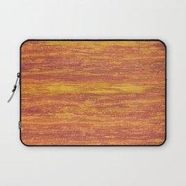 Abstract background orange Laptop Sleeve