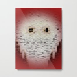 Ghost Eyes Metal Print