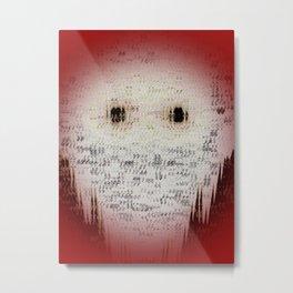 Ghost Eyes Metal Print
