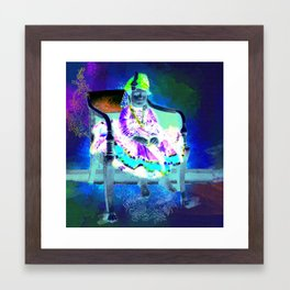 The Maharaja shouldn't have spoiled me, if he wants me to behave Framed Art Print