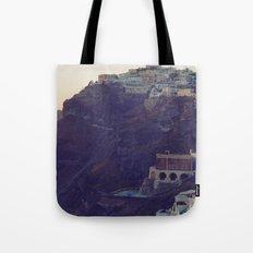 Fira at Dusk III Tote Bag