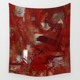 Burgundy Wall Tapestry