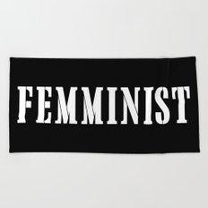 Feminist Beach Towel